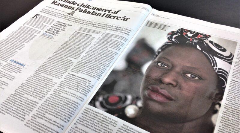 Berlingske Tidende bad om hjælp fra HovsaDeling, da avisen skulle skrive om Rasmus Paludans chikane mod en afrikansk-dansk kvinde. Foto: Jens Work Kristensen